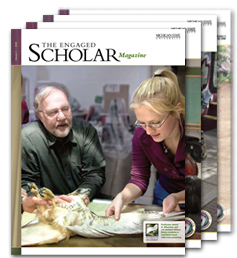 The Engaged Scholar Magazine Covers - Volumes 1 to 4