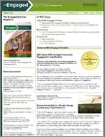 The Engaged Scholar E-Newsletter - Volume 3 - Issue 1 Screenshot