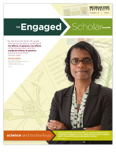 The Engaged Scholar Magazine Cover - Volume 8 (PDF)