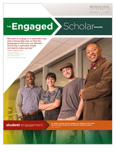 The Engaged Scholar Magazine Cover - Volume 9 (PDF)