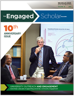The Engaged Scholar Magazine Cover - Volume 9