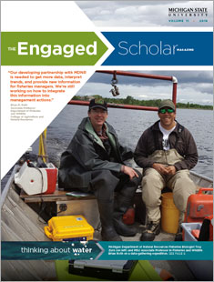 The Engaged Scholar Magazine Cover - Volume 11