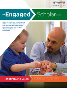 The Engaged Scholar Magazine Cover - Volume 12