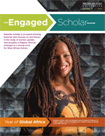 The Engaged Scholar Magazine Cover - Volume 13